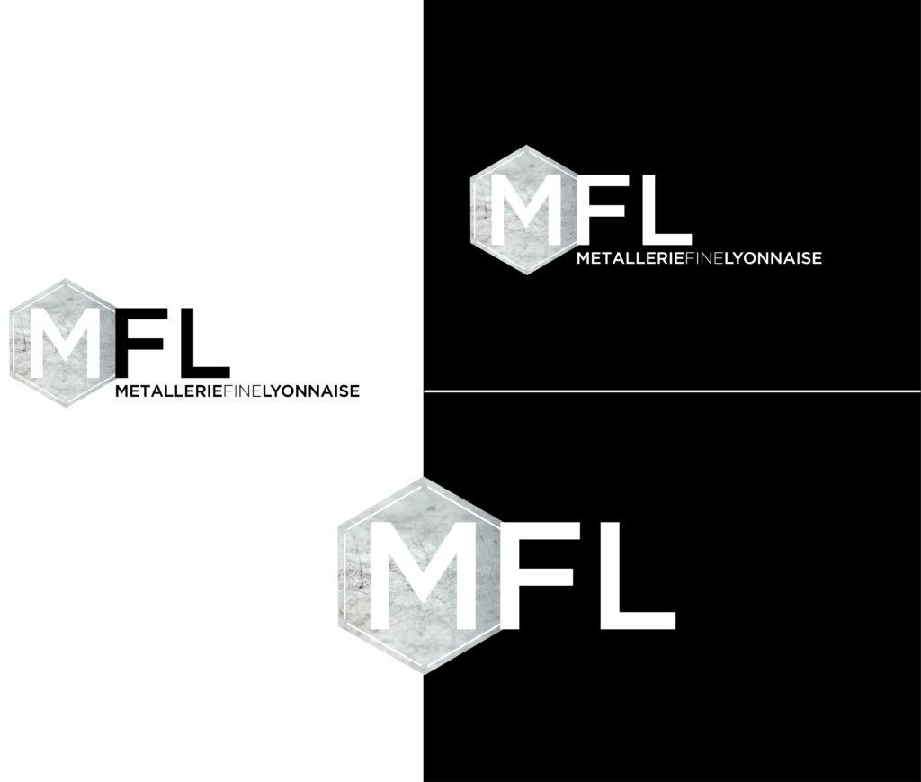 Refonte du logo Métallerie Fine Lyonnaise