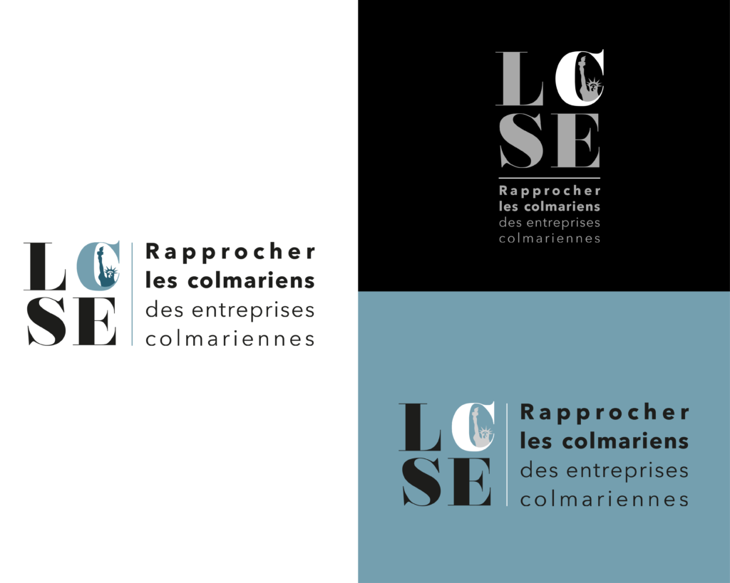 Identité visuelle Les Colmariens s'entraident