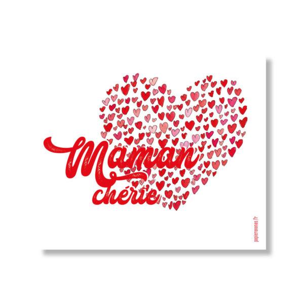 carte maman chérie