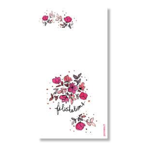 félicitations petites fleurs