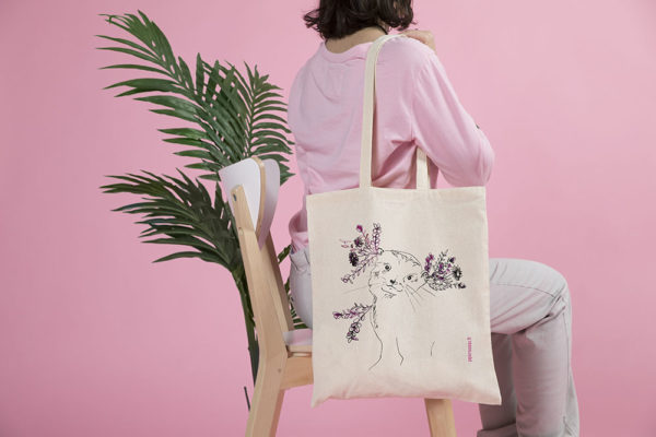 tote bag my loutre